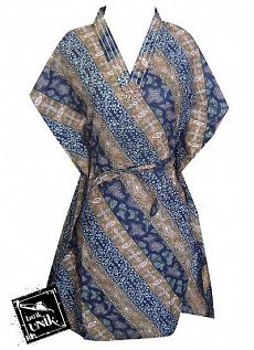Baju Batik Dress Kelelawar 