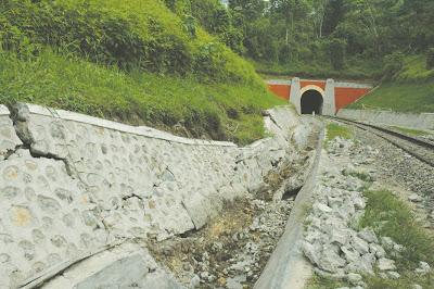 Terowongan Tebing Tinggi
