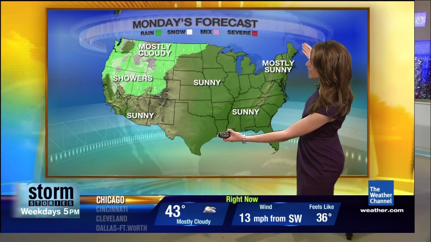 Maria LaRosa Weather Channel