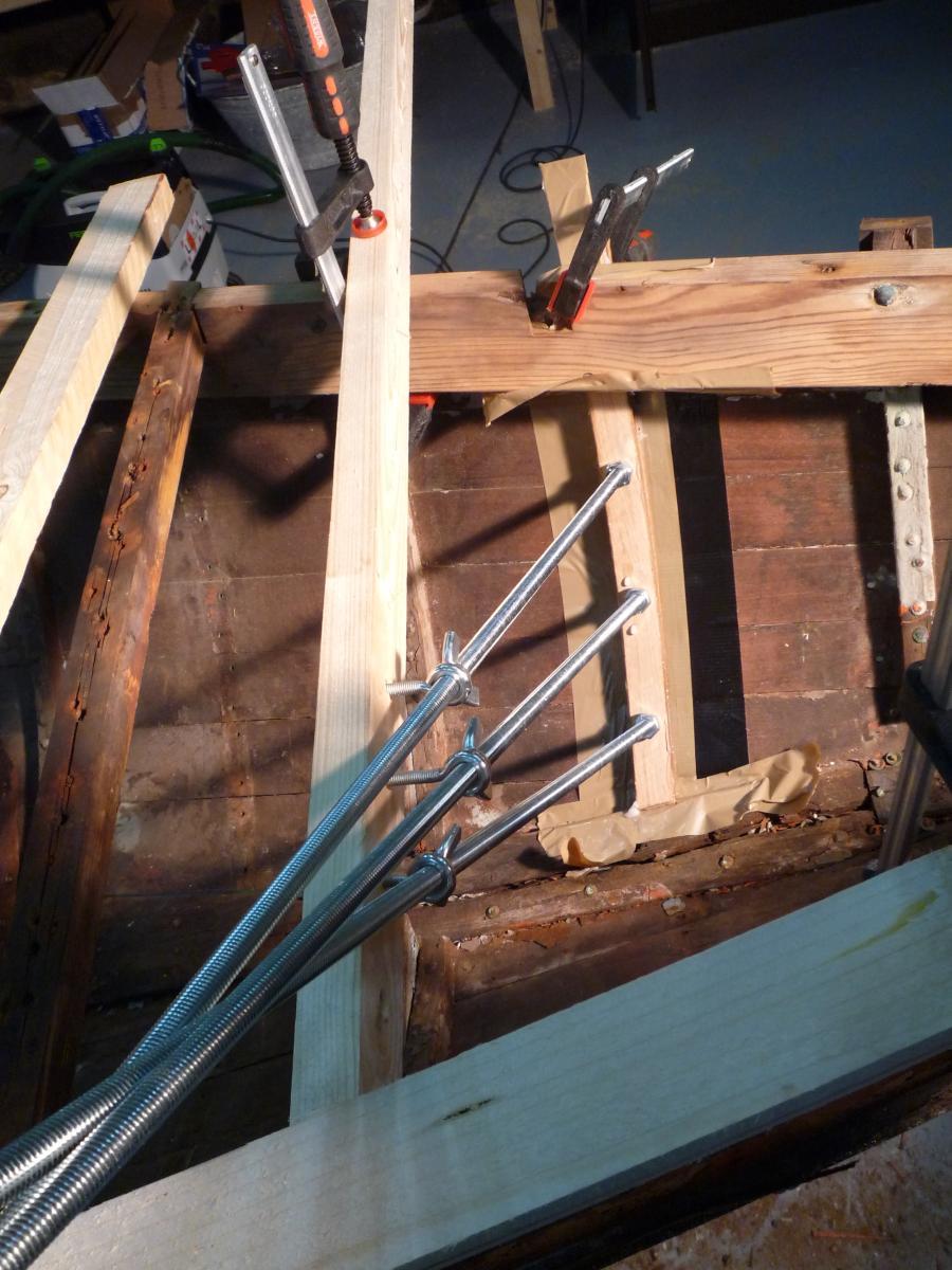 restaurierung eines 15er schärenkreuzers: märz 2010