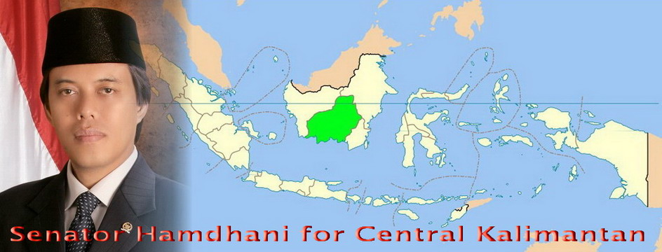 Senator Hamdhani For Central Kalimantan
