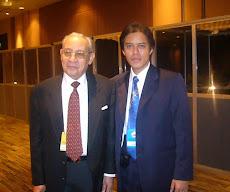 Hamdhani bersama Ali Alatas pada acara IRIF 2008