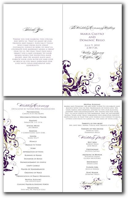 ... reception program template 50th birthday party program template