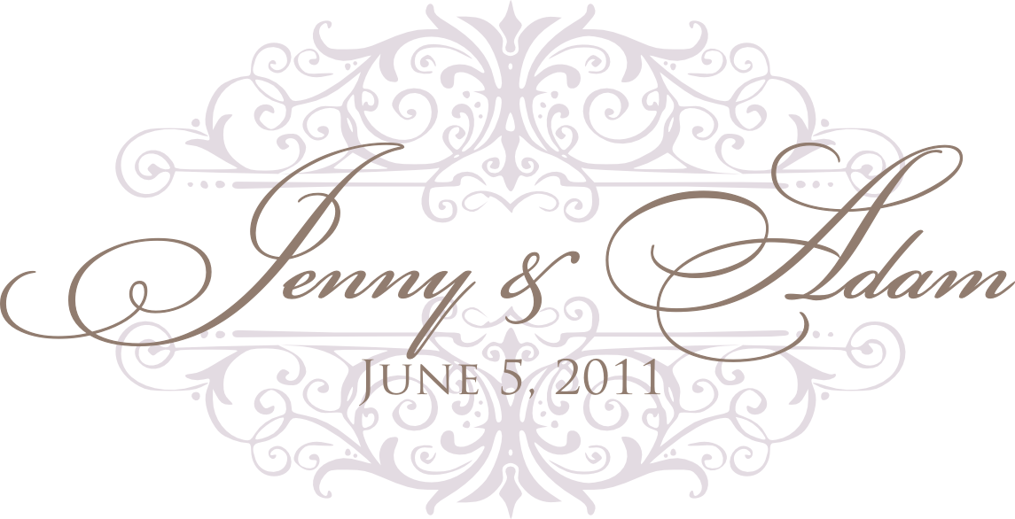 signatures by sarah custom wedding monogram for jenny