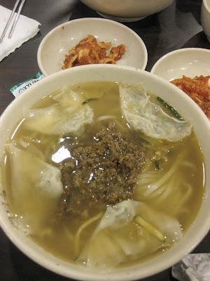 Myeongdong : Noodle Soup at Myeongdong Gyo Ja