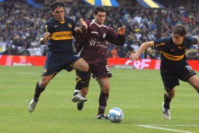 Boca Juniors vs Lanus