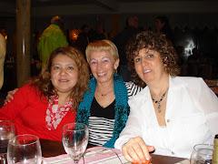 Cena en Puerto Cristal 2008