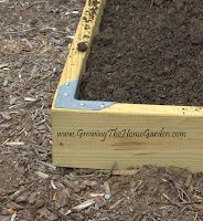 April 2010 growing the home garden - Raised garden bed corner brackets ...