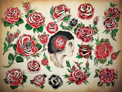 Lukacsarts Tattoo New Rose Flash