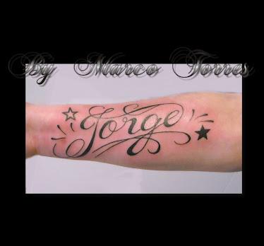 tatuajes con letras griegas. Luciano Galvan en Tengwar (Letra Elfica): tatuaje letras