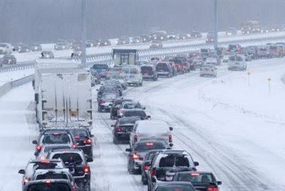 snomageddon winter driving