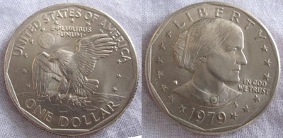 usa susan anthony dollar 1979