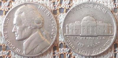 US 5 cent 1980