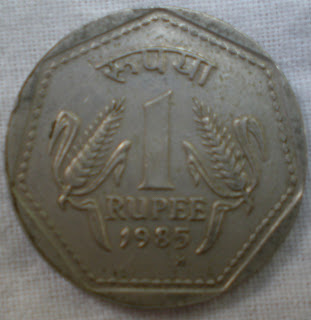 one rupee birmingham mint