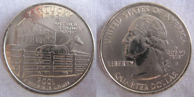 usa kentucky state quarter