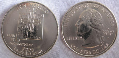 usa new mexico state quarter