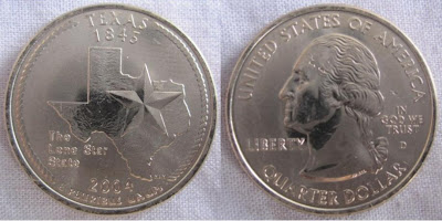 usa texas state quarter