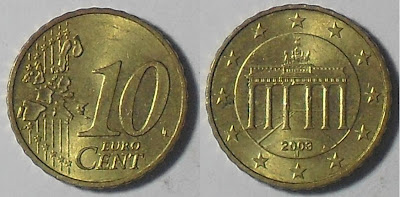 germany euro 10 cent 2003