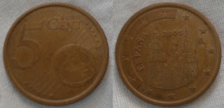 spain euro 5 cent