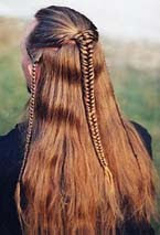 lindsay lohan hairstyles : braid technique she also shows us how to create legolas hairstyle