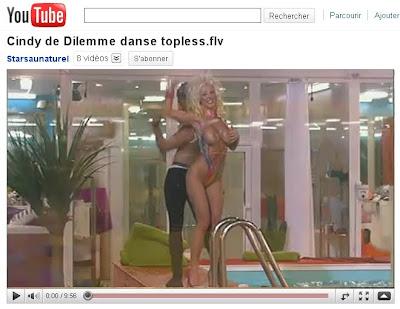 cindy dilemme topless