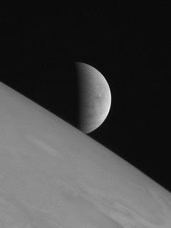 La luna di Giove Europa ripresa da New Horizons