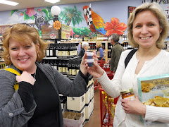 Wendy &amp; Sue at Trader Joe&#39;s!