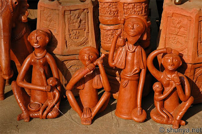 Terracotta figurines from India