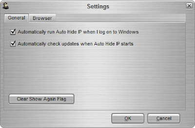 Auto Hide IP :: Advanced Settings - General