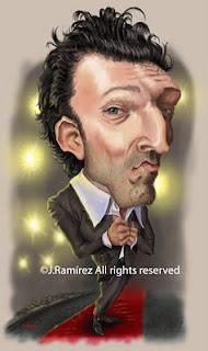 Vincent Cassel humor caricature