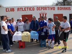 Colaborando con el Club LOS ROMANOS