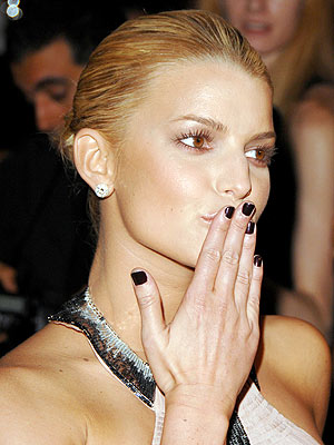 But this fall, black polish is