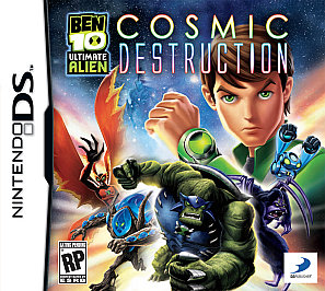 Ben 10 Ultimate Alien : Cosmic Destruction DS