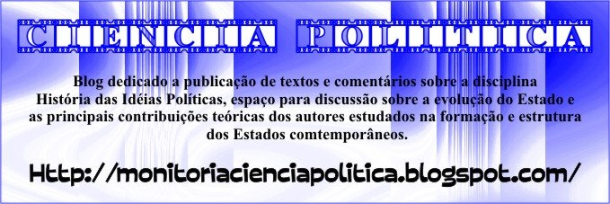 Histria das Idias Polticas - Cincia Poltica