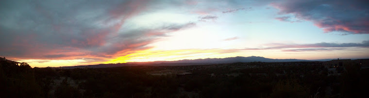 more Santa Fe sunset