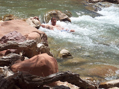 Swimming in the Virgin River