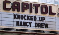 Knocked Up Nancy Drew