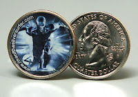 Fantastic Four - Silver Surfer quarter