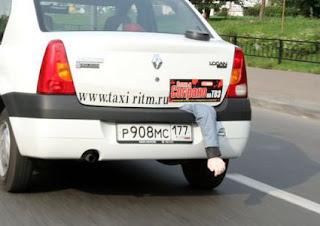 Sopranos - Taxicab trunk gag