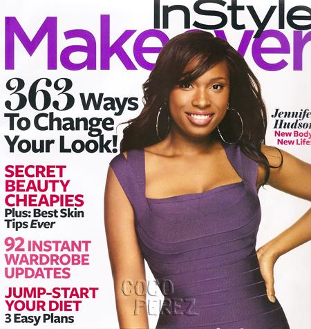 HUD lookin fab on Instyle Makeover August Issue!