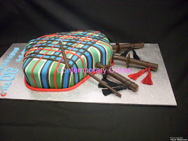 Bag pipes cake
