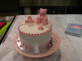 Christening cake workshop.