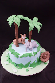 Jungle themed cake workshop.