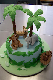 Jungle theme cake workshop