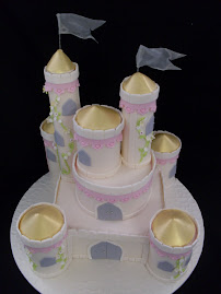 Fairy Castle Cake, 2 day workshop.