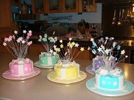 Shooting stars cake class