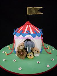 Circus Tent Cake Class.