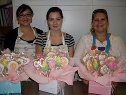 Beginners 4 Cookie Bouquet Class