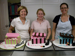 Intermediate 6 Shoe and shoe box cake class