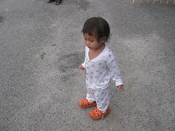 Khairunnisa semasa kecil